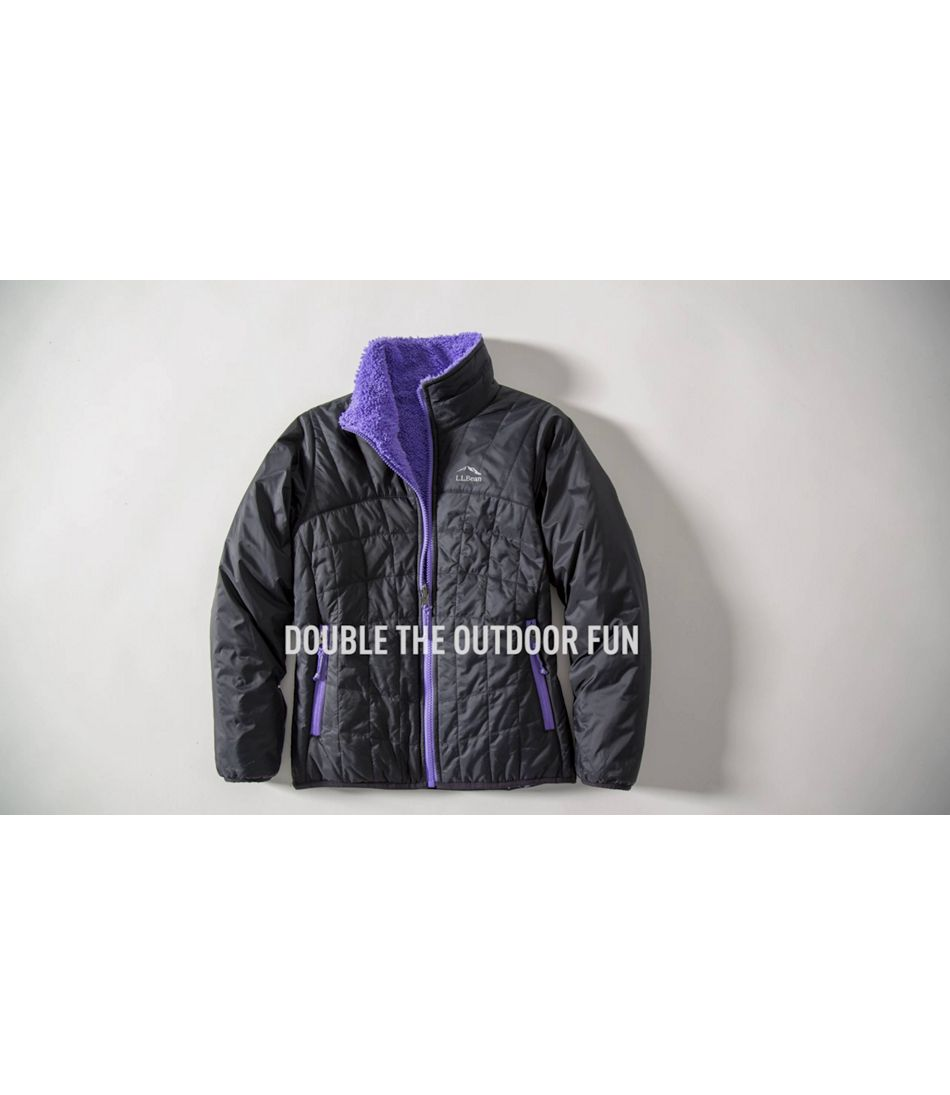 Video: Girls Mountain Bound Reversible Jacket