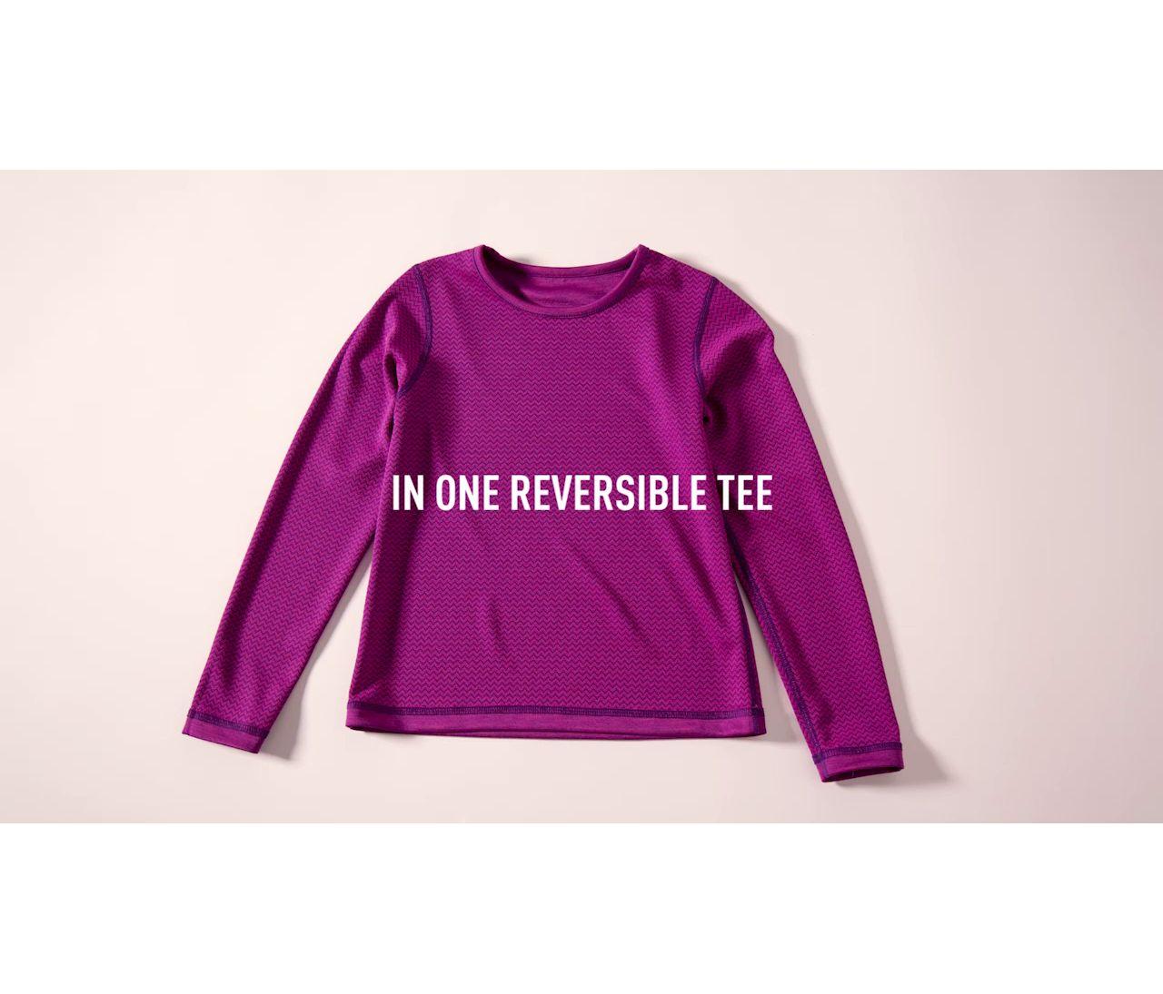 Video: Girls Reversible Long Sleeve Tee