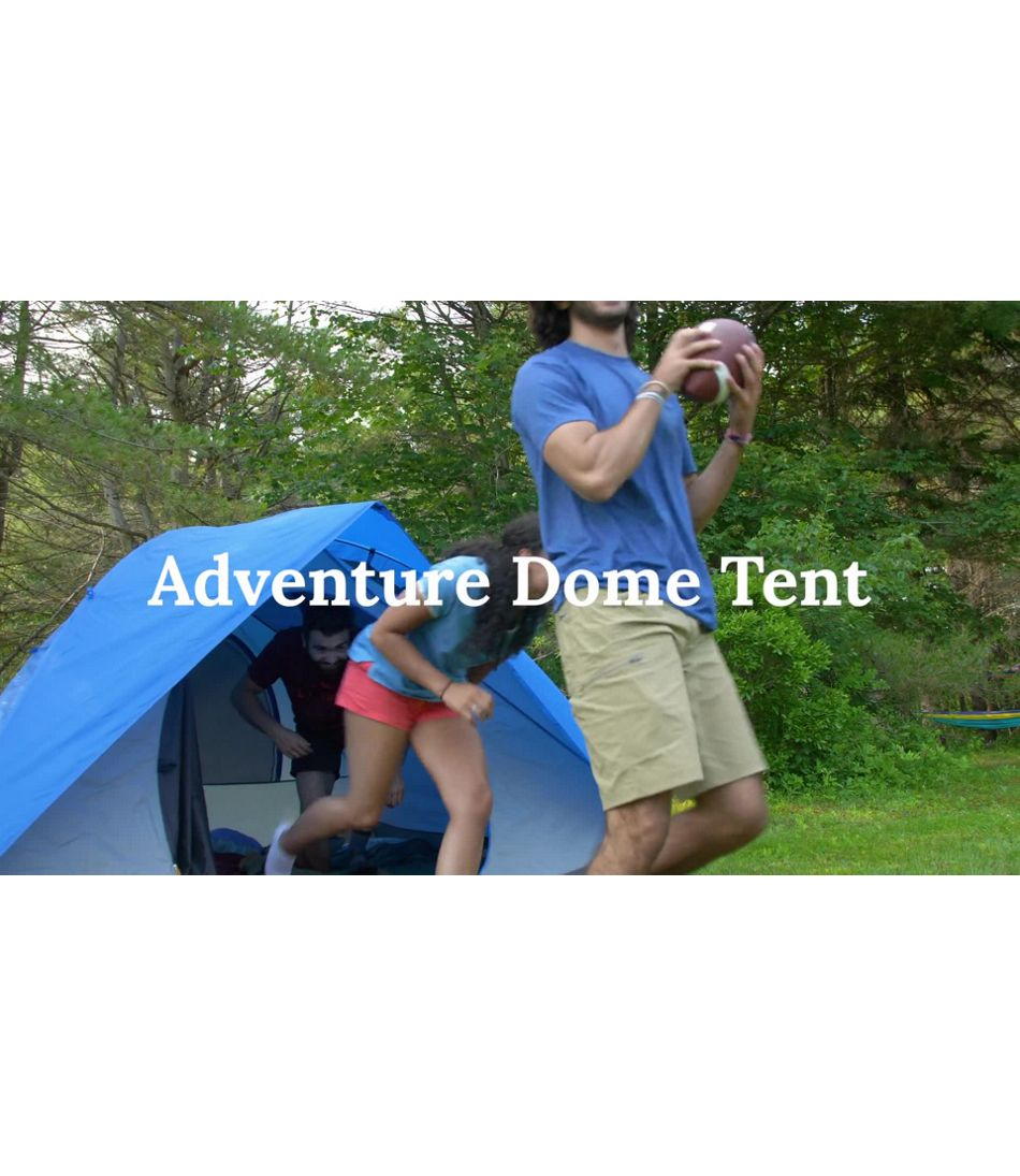 Video: LLB Adventure Dome Tent
