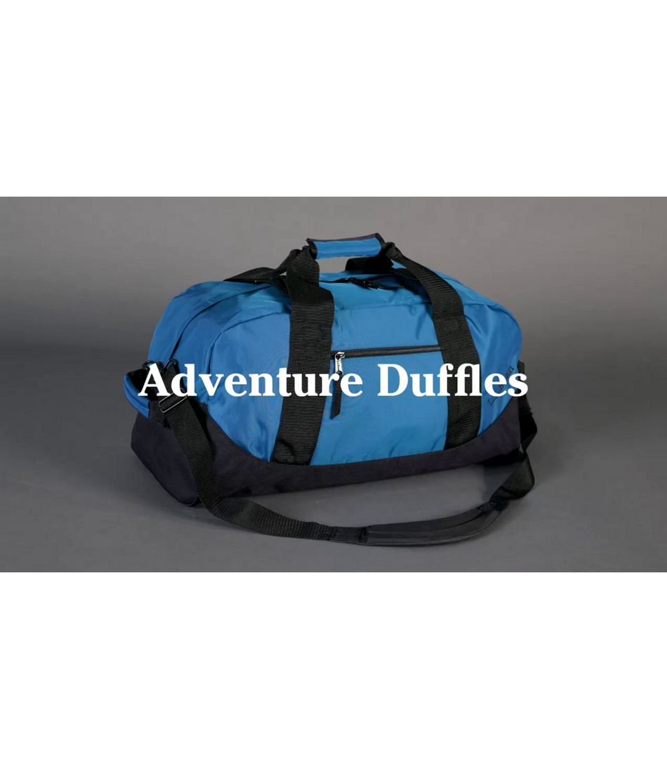 Video: Adventure Duffles