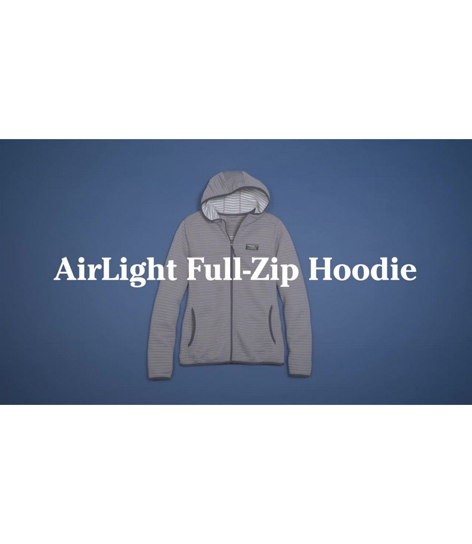 Video: AirLight Knit Full-Zip Hoodie Misses Regular