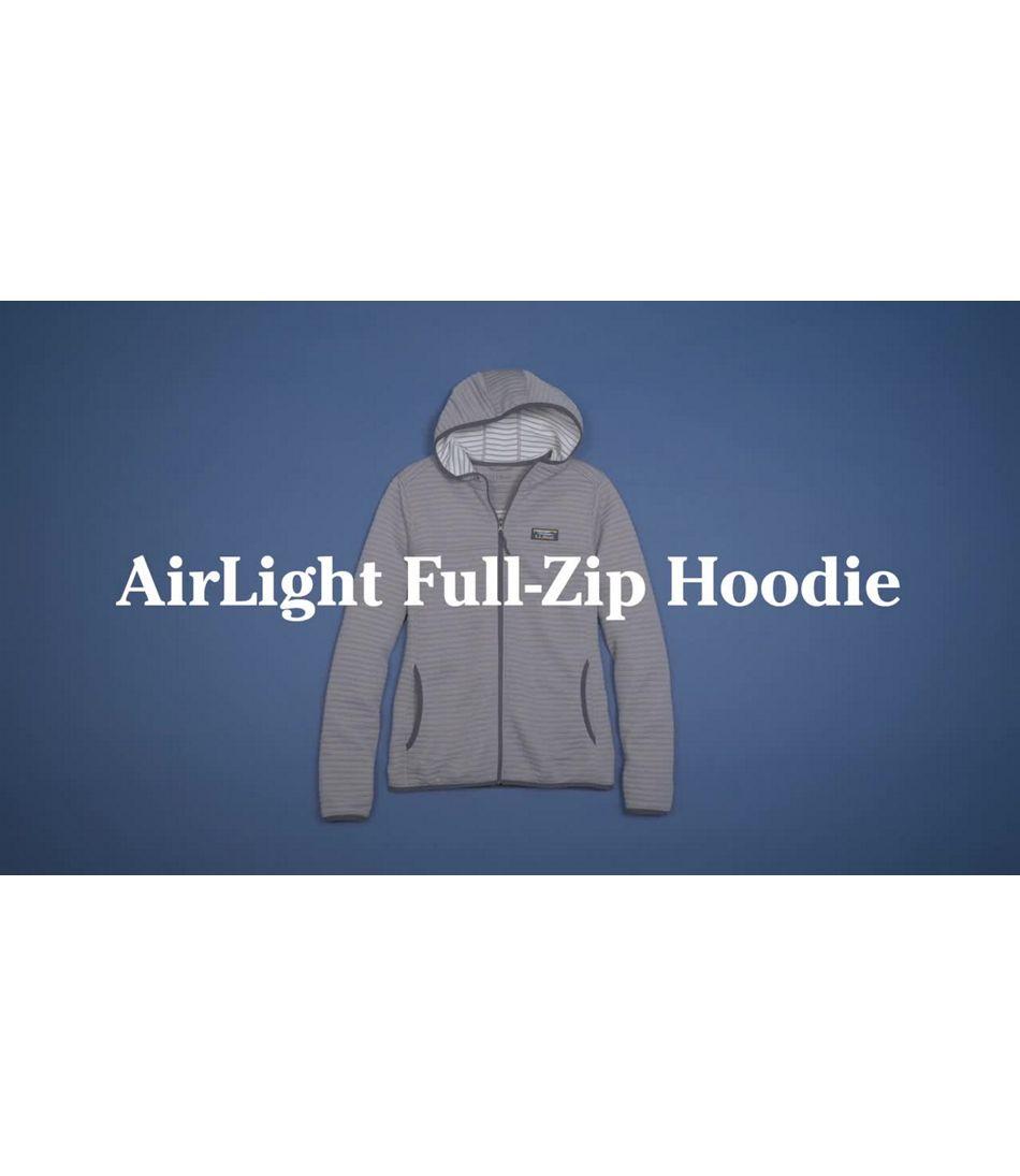 Video: AirLight Knit Full-Zip Hoodie Misses Regular
