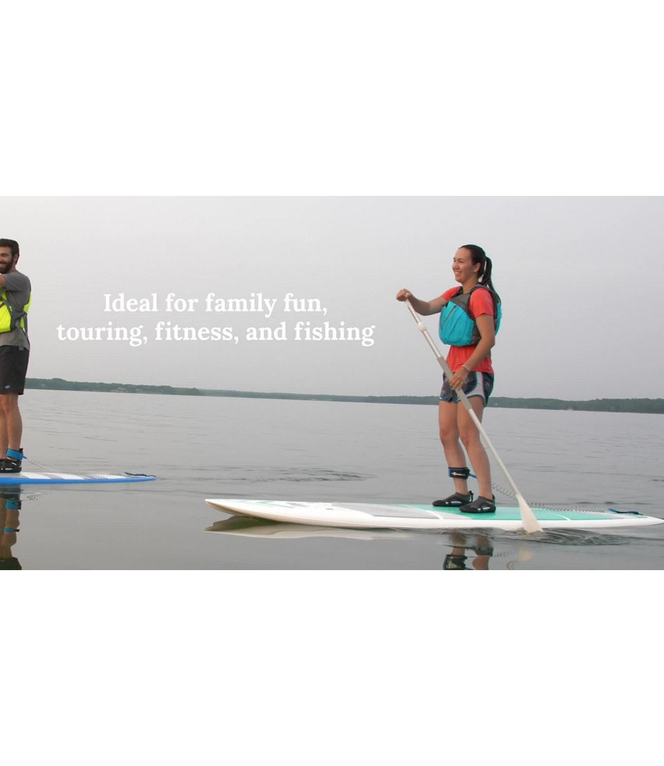 Video:L.L.Bean Bayside CROSS TOUGH-TEC Stand-Up Paddleboard Package