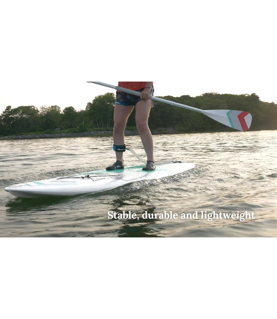 Video: L.L.Bean Bayside CROSS TOUGH-TEC Stand-Up Paddleboard 10'