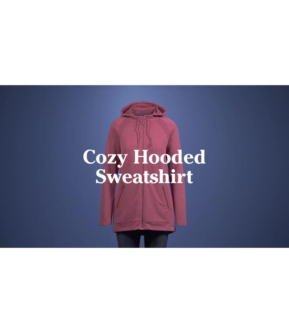 Video: Beans Cozy Full-Zip Hooded Jacket Misses Regular