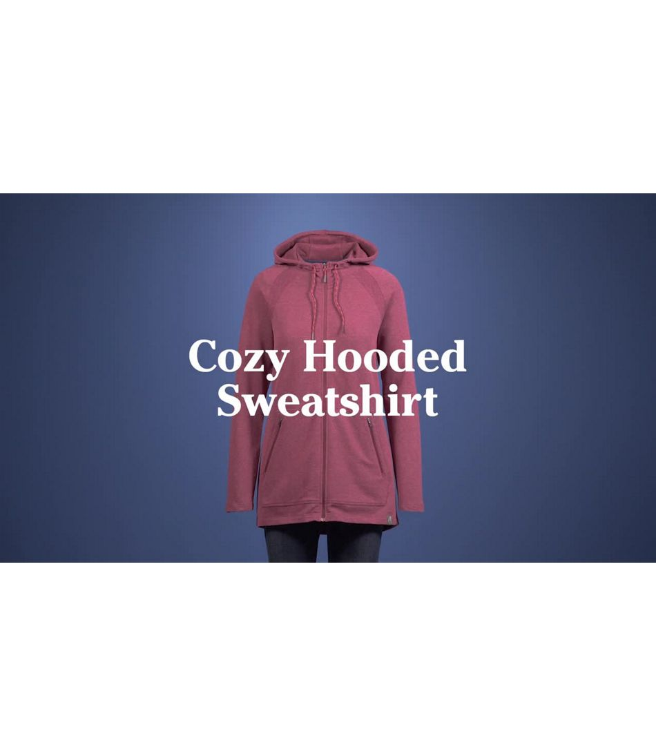 Video: Beans Cozy Full-Zip Hooded Jacket Misses Regular