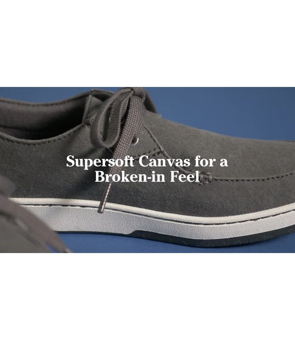 Video: Campside Shoe 2 Eye Canvas Mens