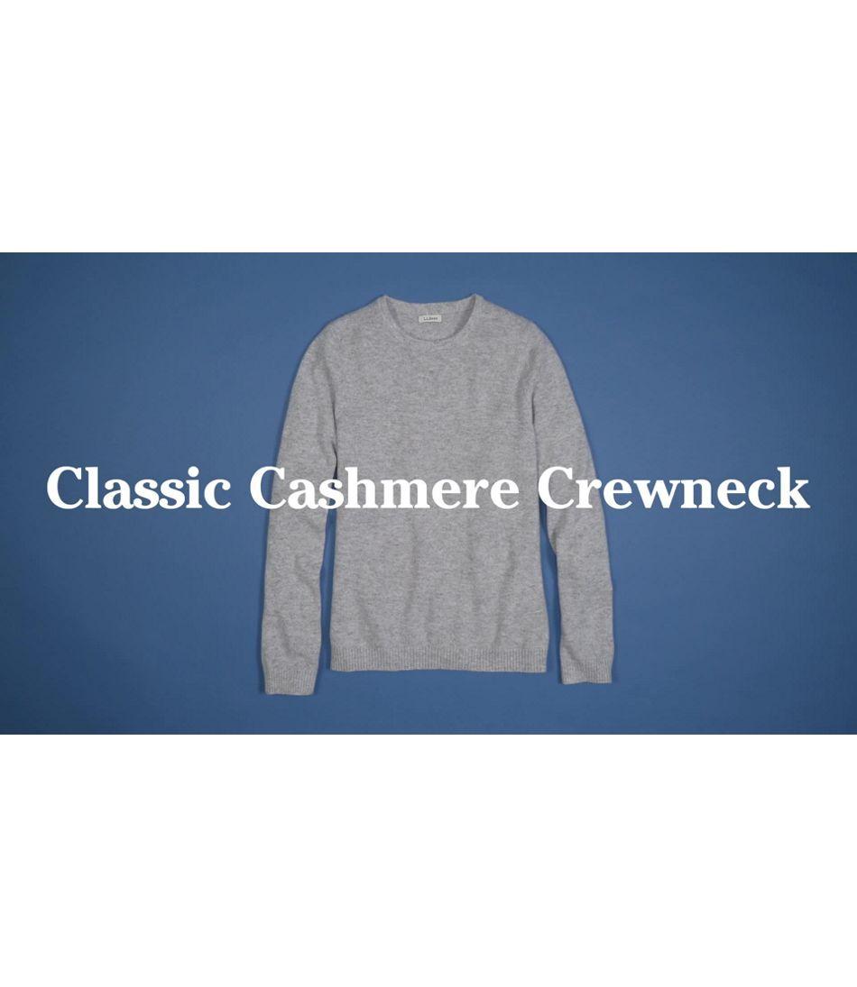 Video: Classic Cashmr Swtr Crew Ws