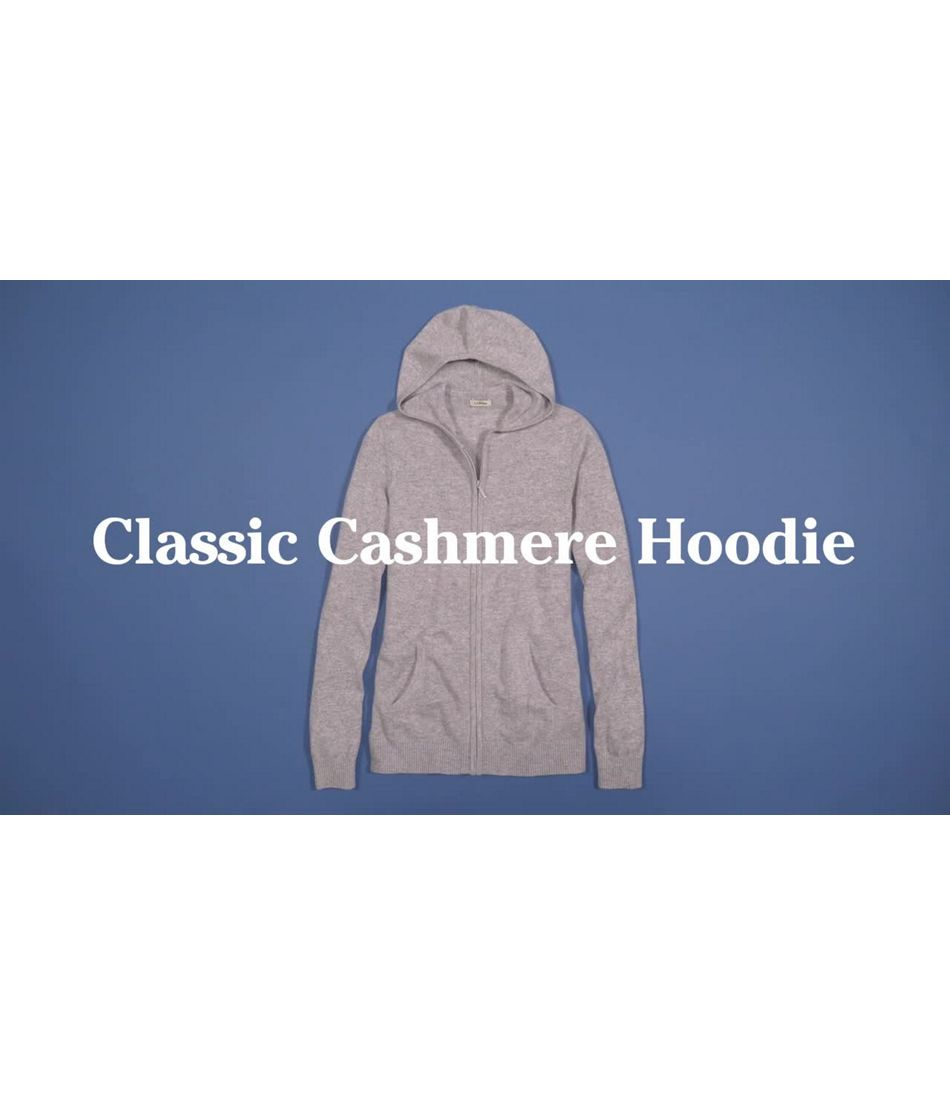 Video: Classic Cashmere Zip Hoodie Misses Regular