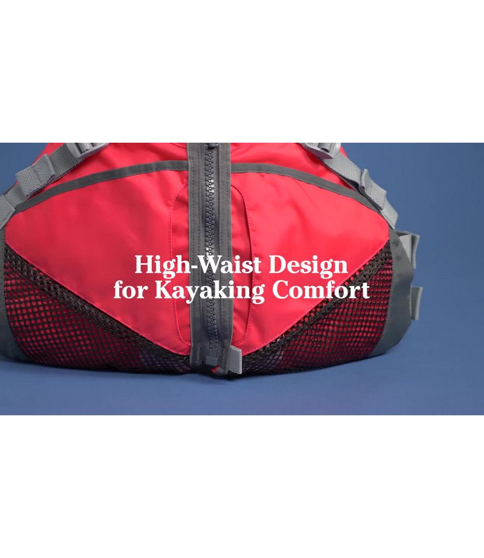 Video: L.L.Bean Comfort Back Personal Floatation Device Womens