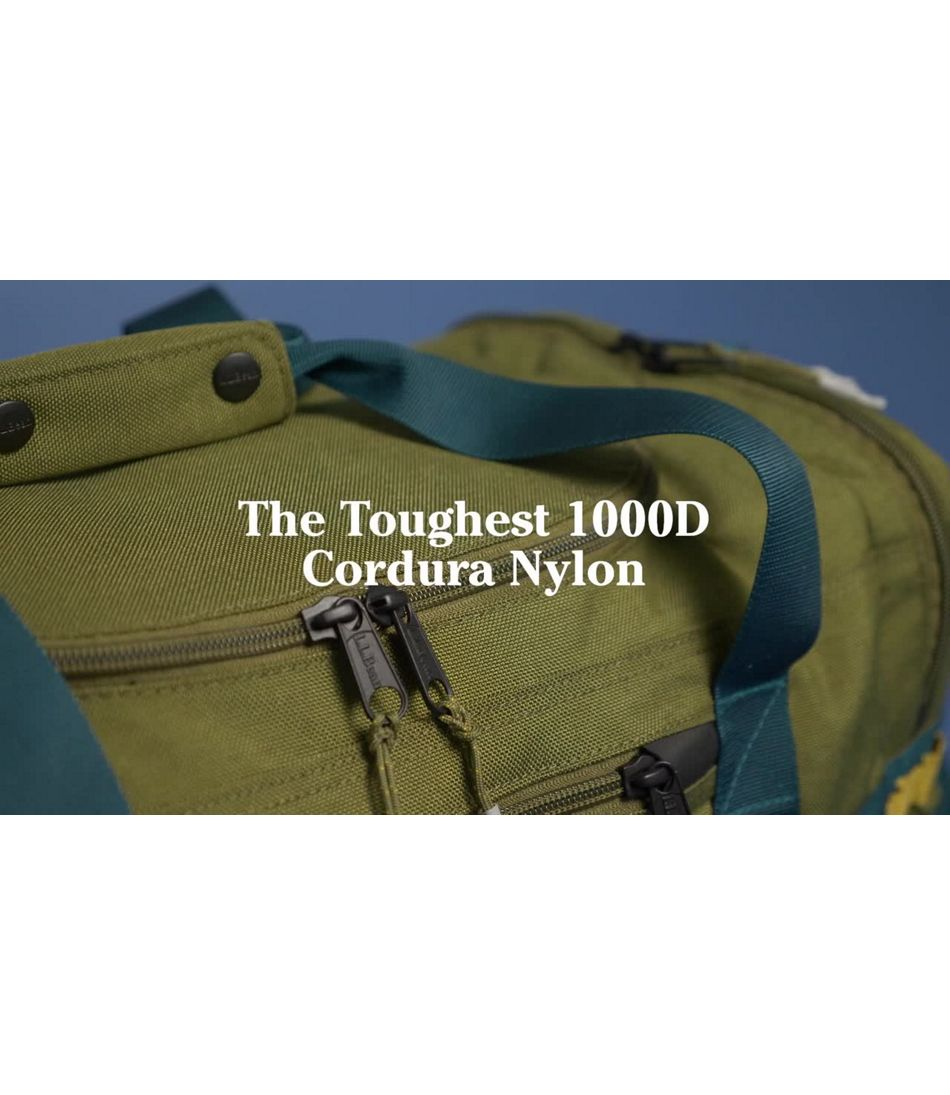 Video: Cordura Duffle Small