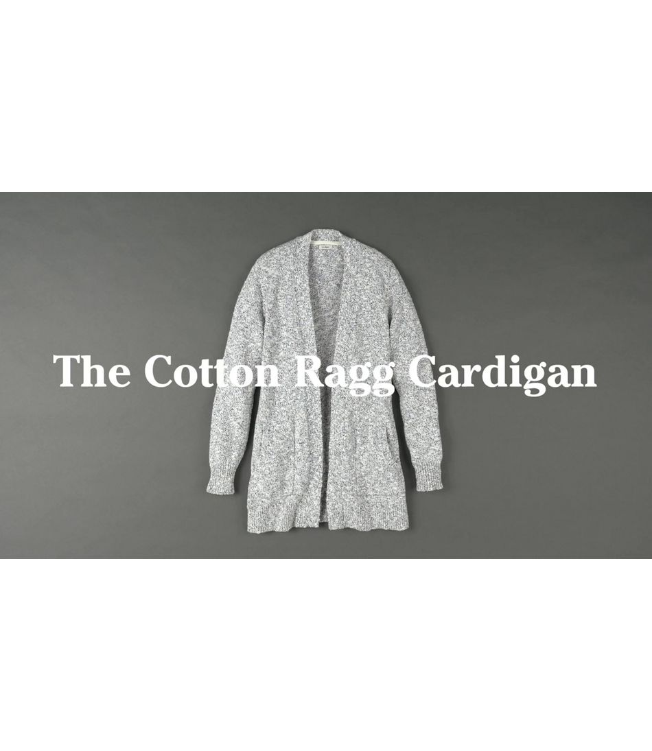 Video: Cotton Ragg Swtrs Cardigan Womens