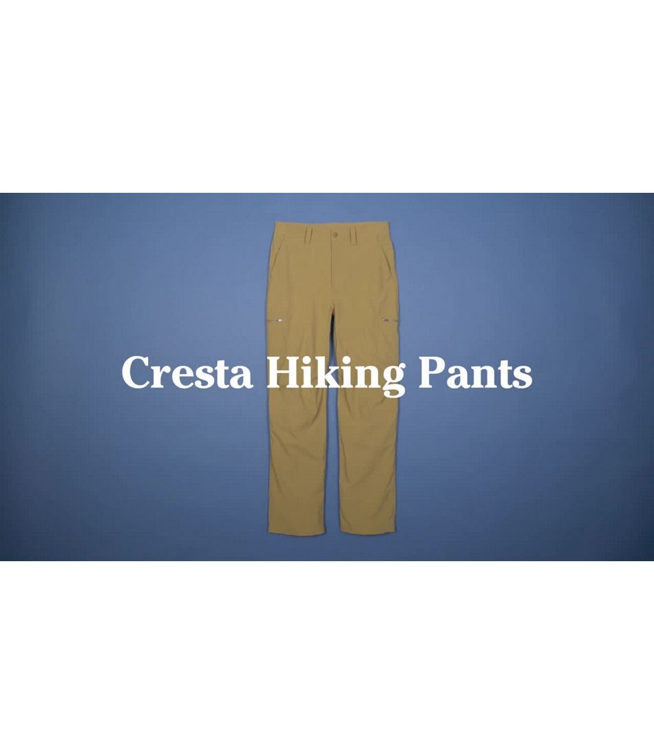 Video: Cresta Hiking Pants Natural Fit Mens