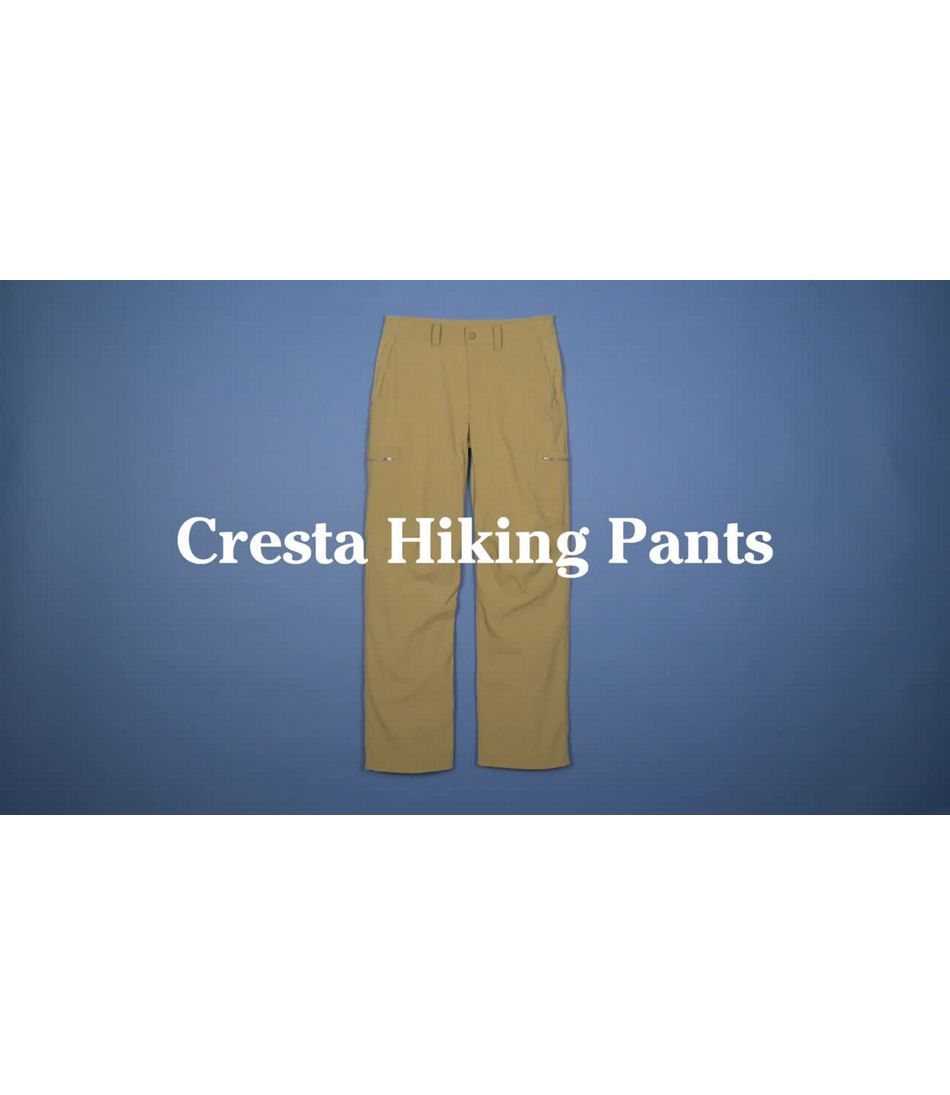Video: Cresta Hiking Pants Standard Fit Mens