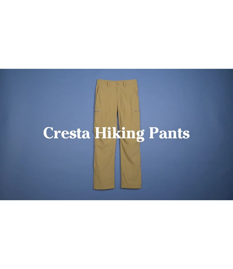 Video: Cresta Hiking Zip Off Pant Mens