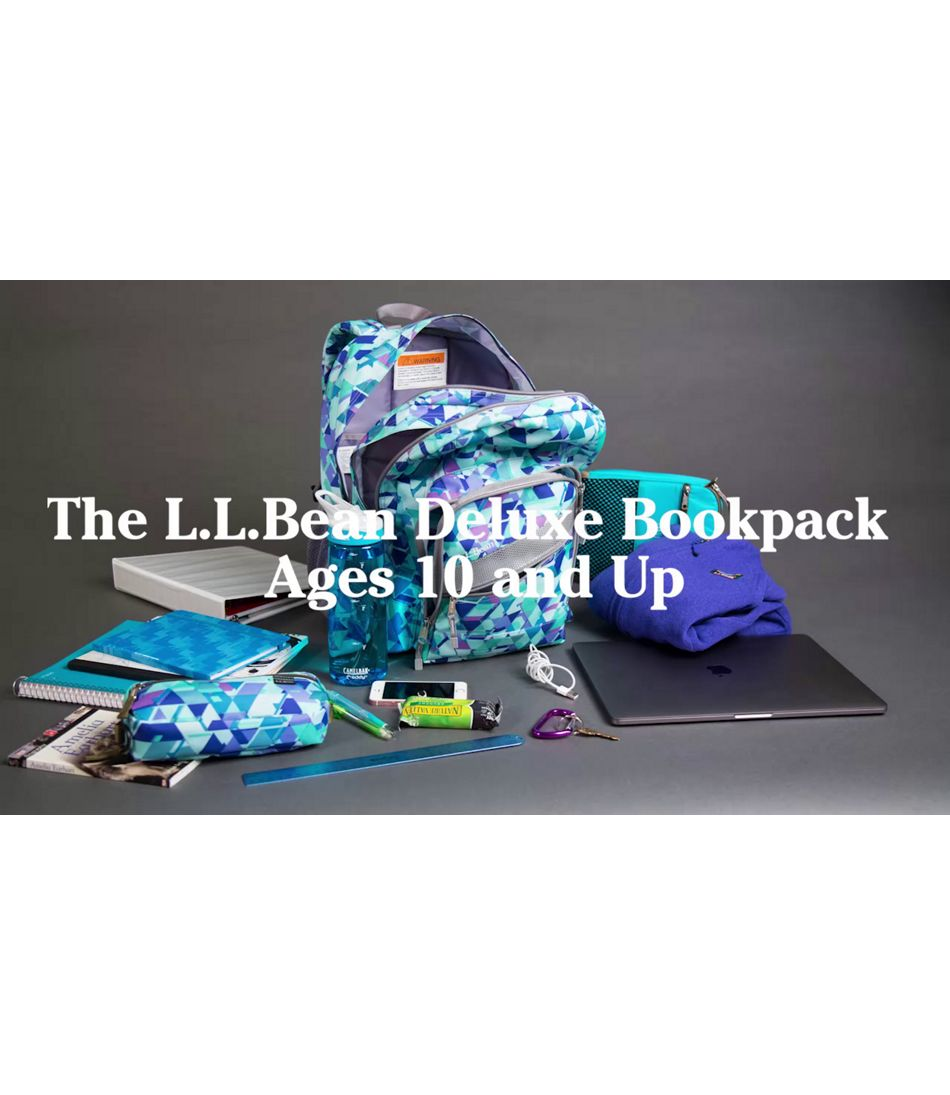 Video: DELUXE BOOKPACK