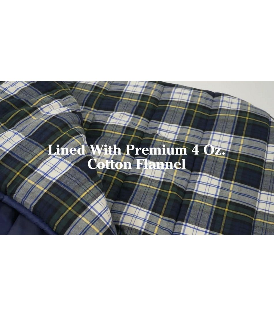 Video: Deluxe Flannel Camp Bag
