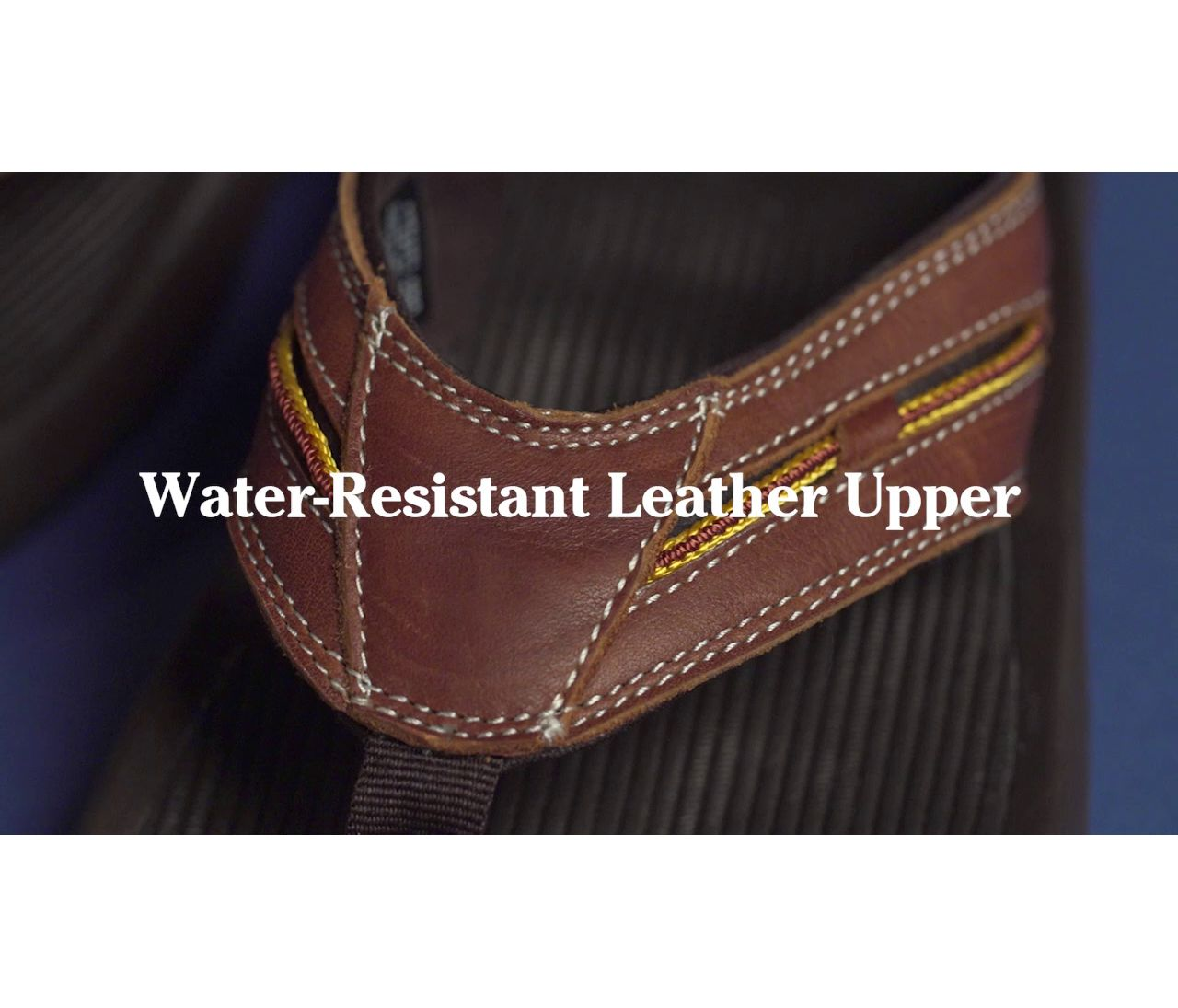 Video: Ms Freeport 1912 Flip Flop Sandal Leather