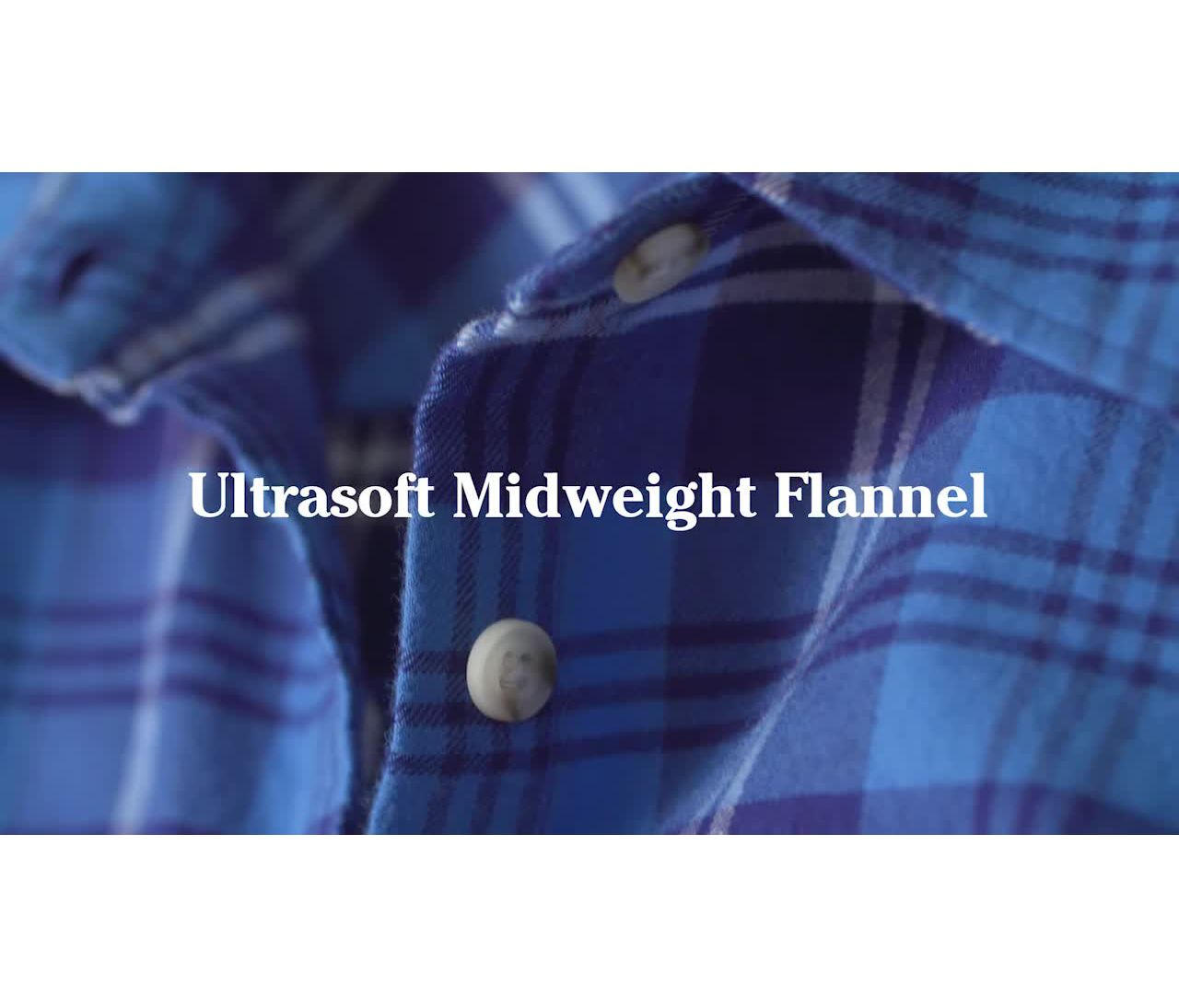 Video: Freeport Flannel Shirt Ws