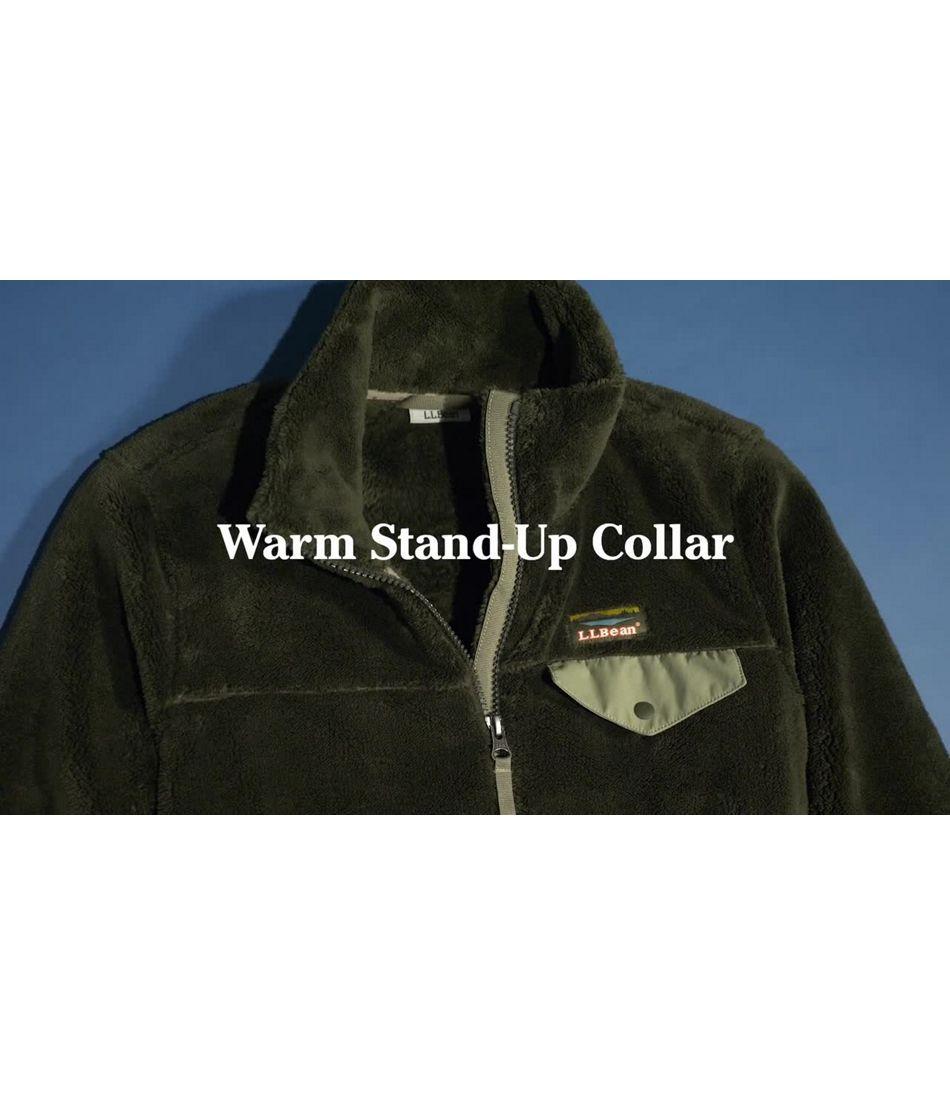 Video: L.L.Bean Hi-Pile Fleece Full-Zip Jacket Ws