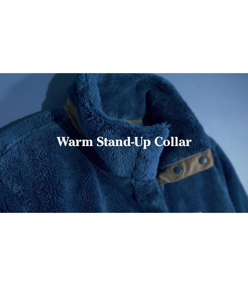 Video: L.L.Bean Hi-Pile Fleece Pullover Ws