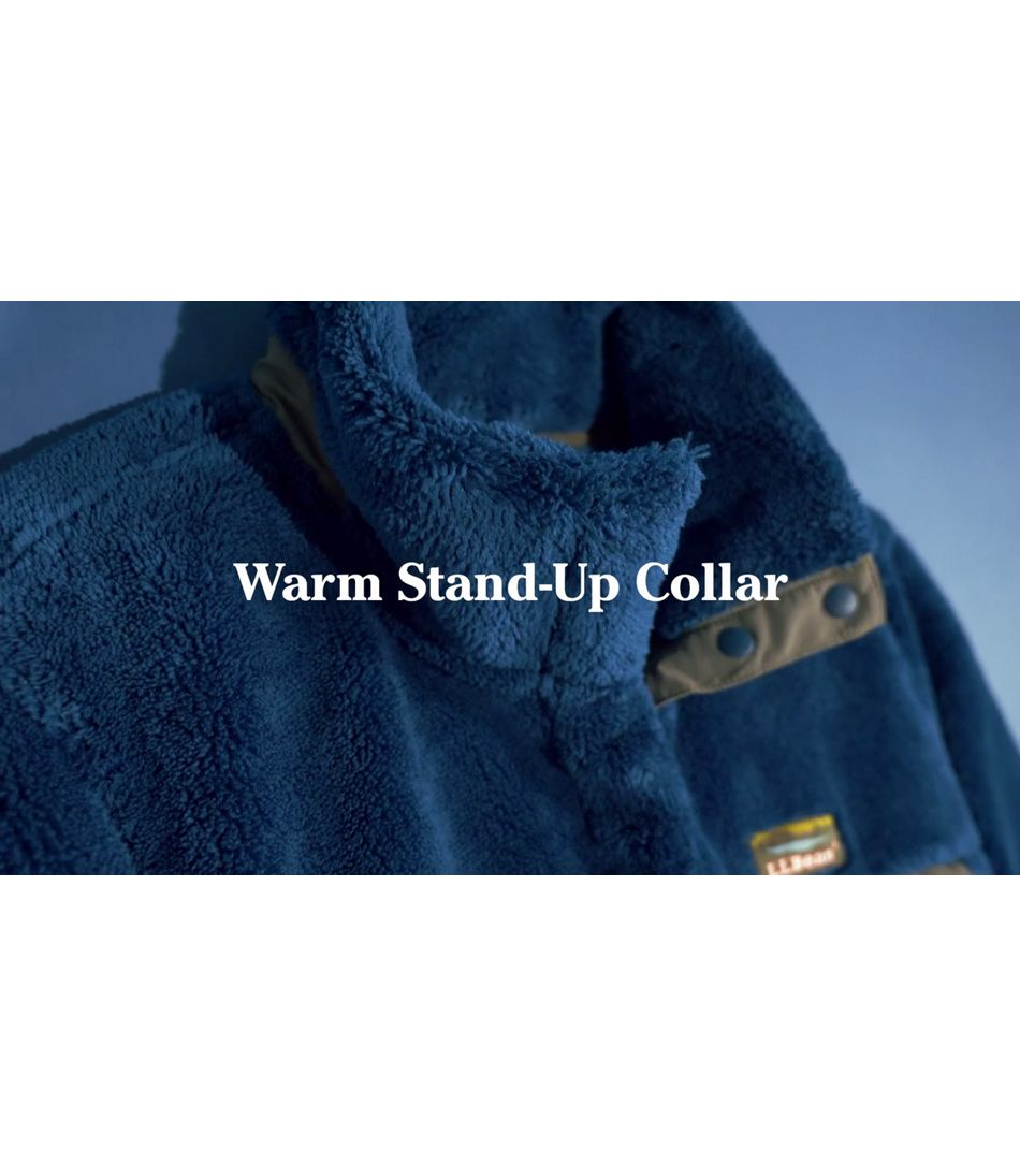 Video: L.L.Bean Hi-Pile Fleece Pullover Ws