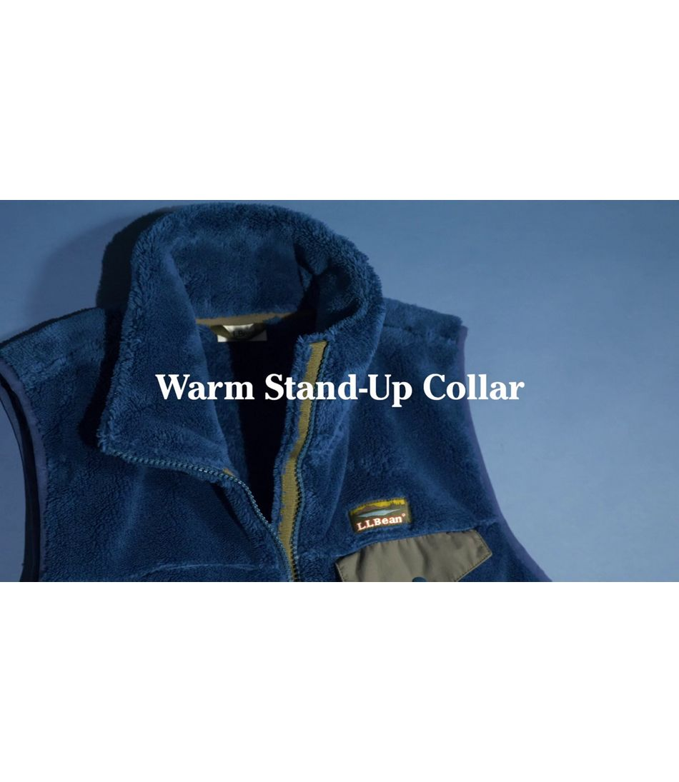 Video: L.L.Bean Hi-Pile Fleece Vest Ws