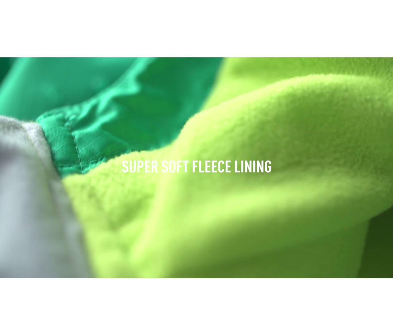 Video: Kids Trail Model Rain Jacket Fleece Lined