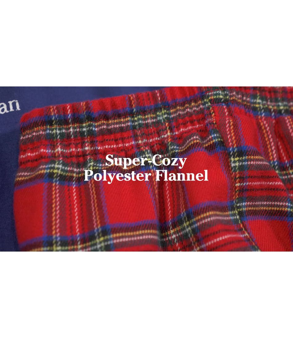 Video: L.L.Bean Flannel Pajamas Kids