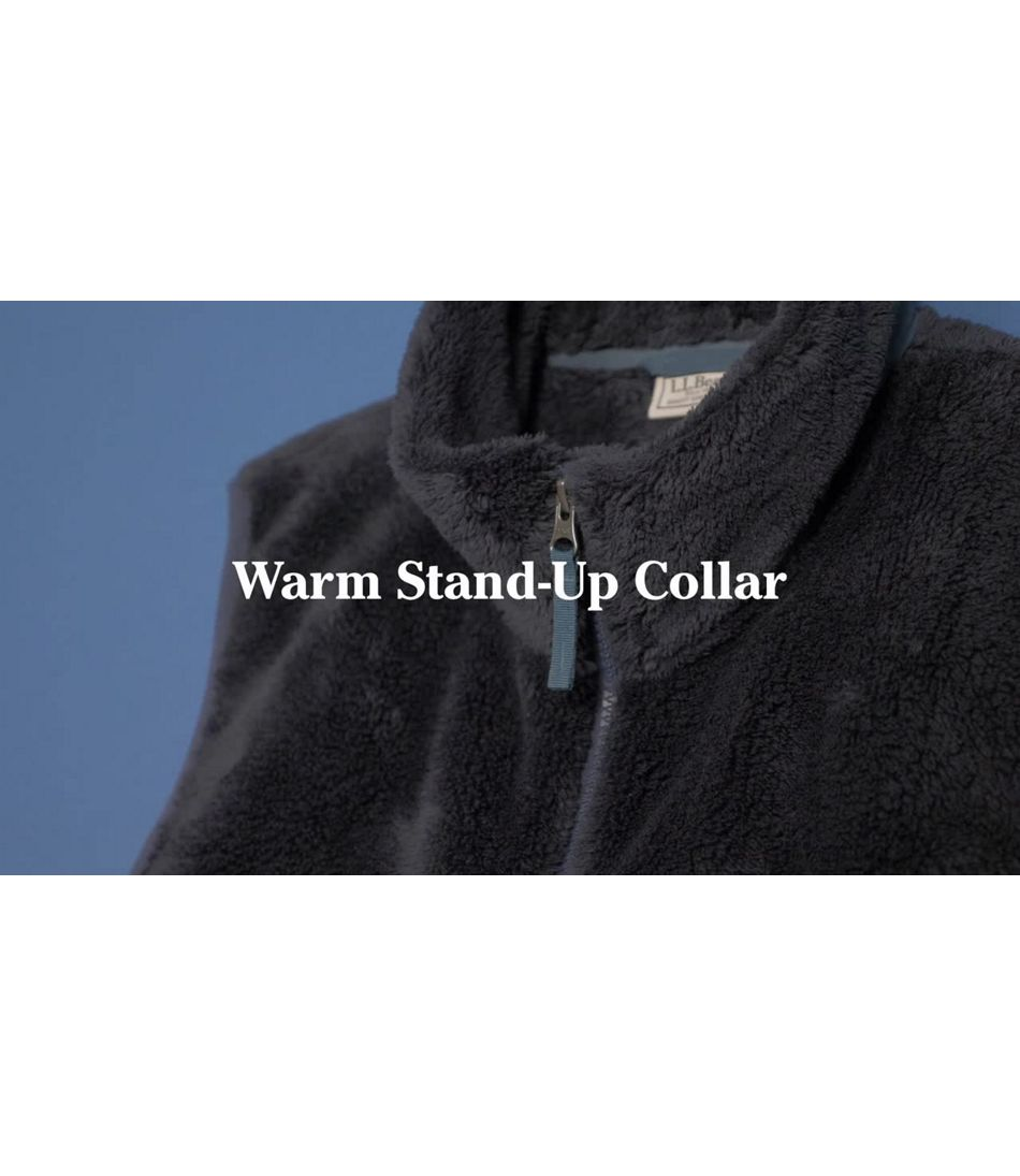 Video: L.L.Bean Hi-Pile Fleece Vest Men's Regular