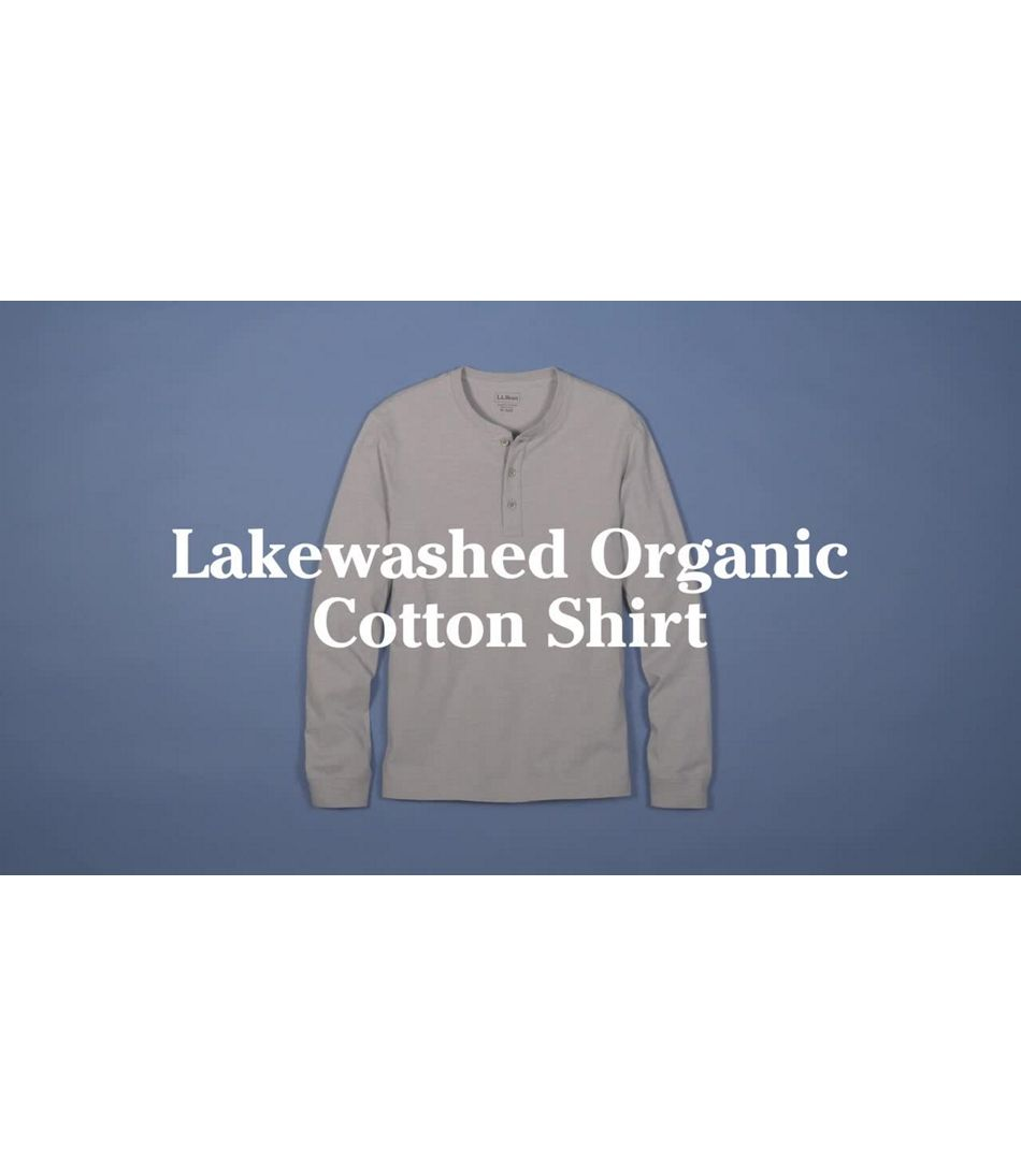 Video: Lakewashed Organic Lg Slv Hnly Shirt Ms