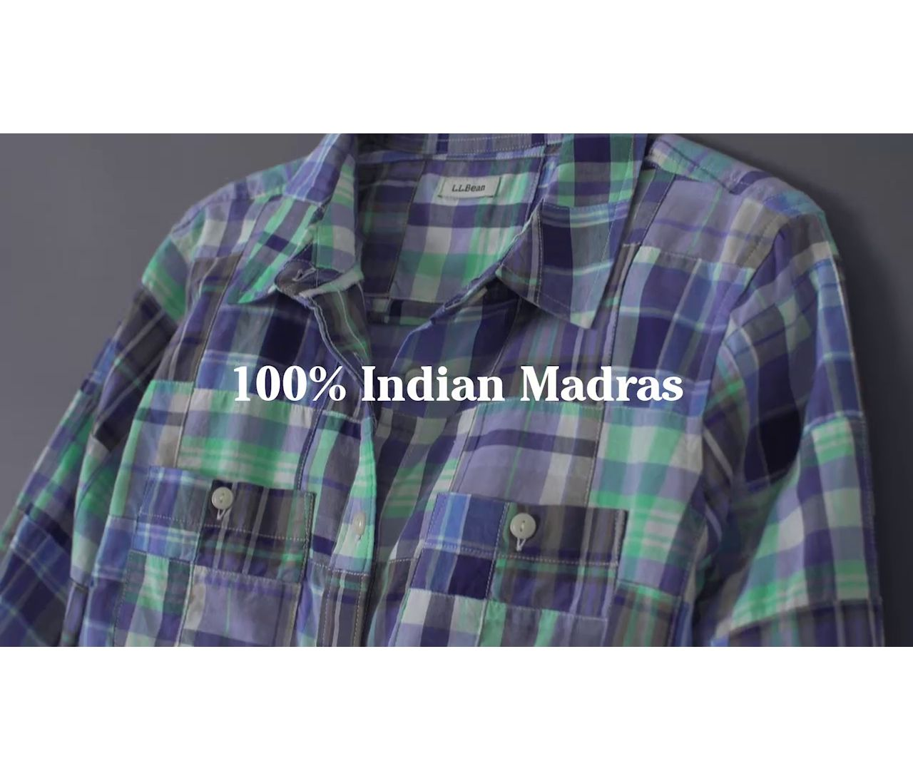 Video: Beans Madras Shirt Ws