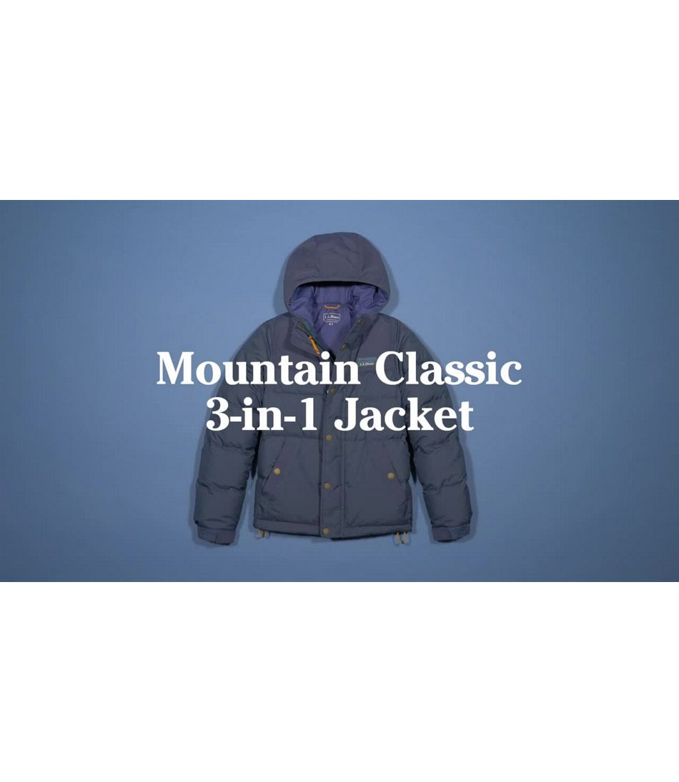 Video: Mtn Classic Dbl Insltd 3-in-1 Jacket Kids