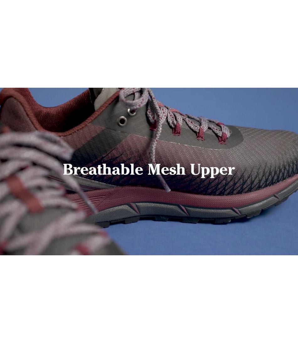 Video: North Peak Ventilated Trail Shoe Mens