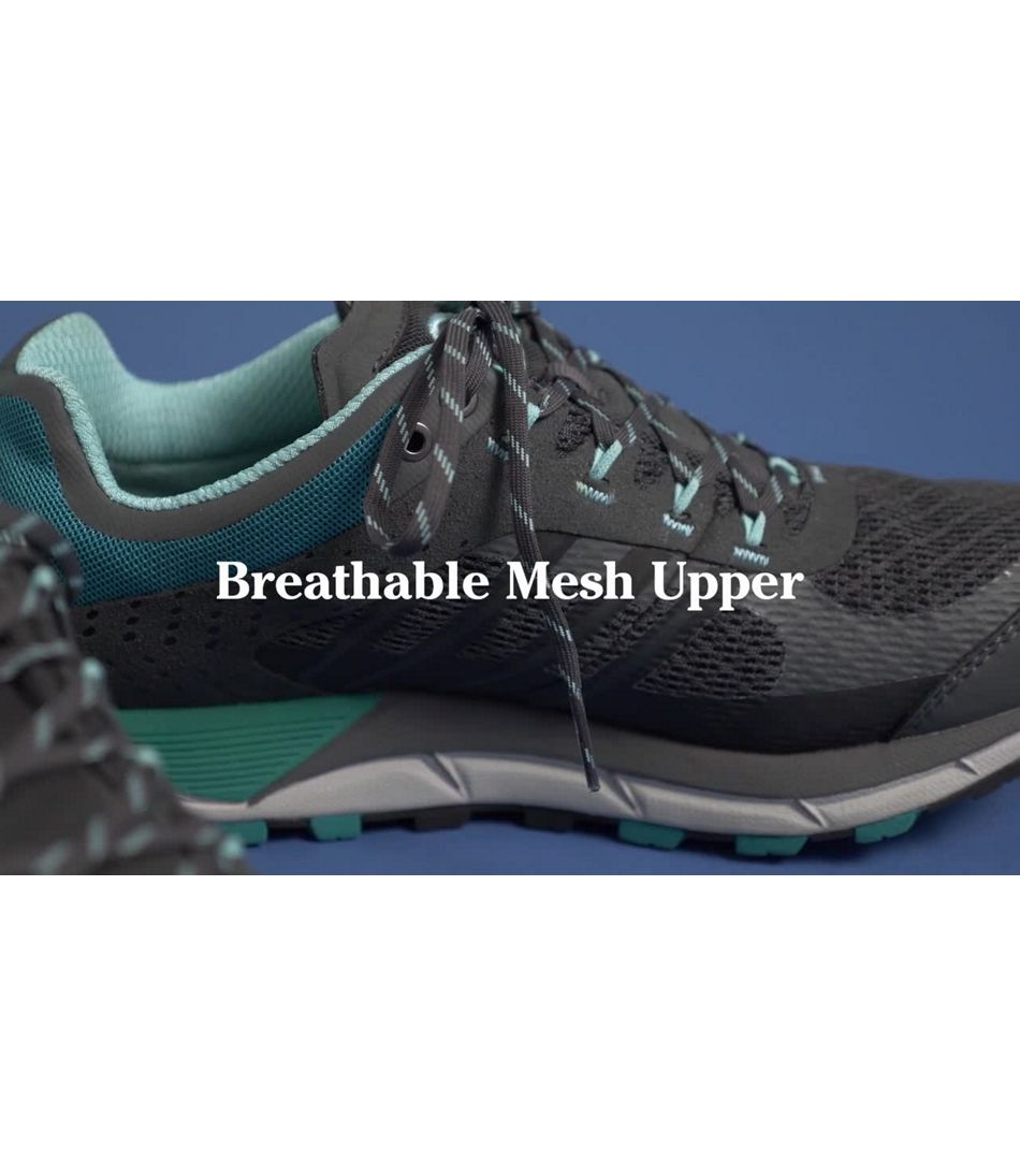 Video: North Peak Waterproof Trail Shoe Womens