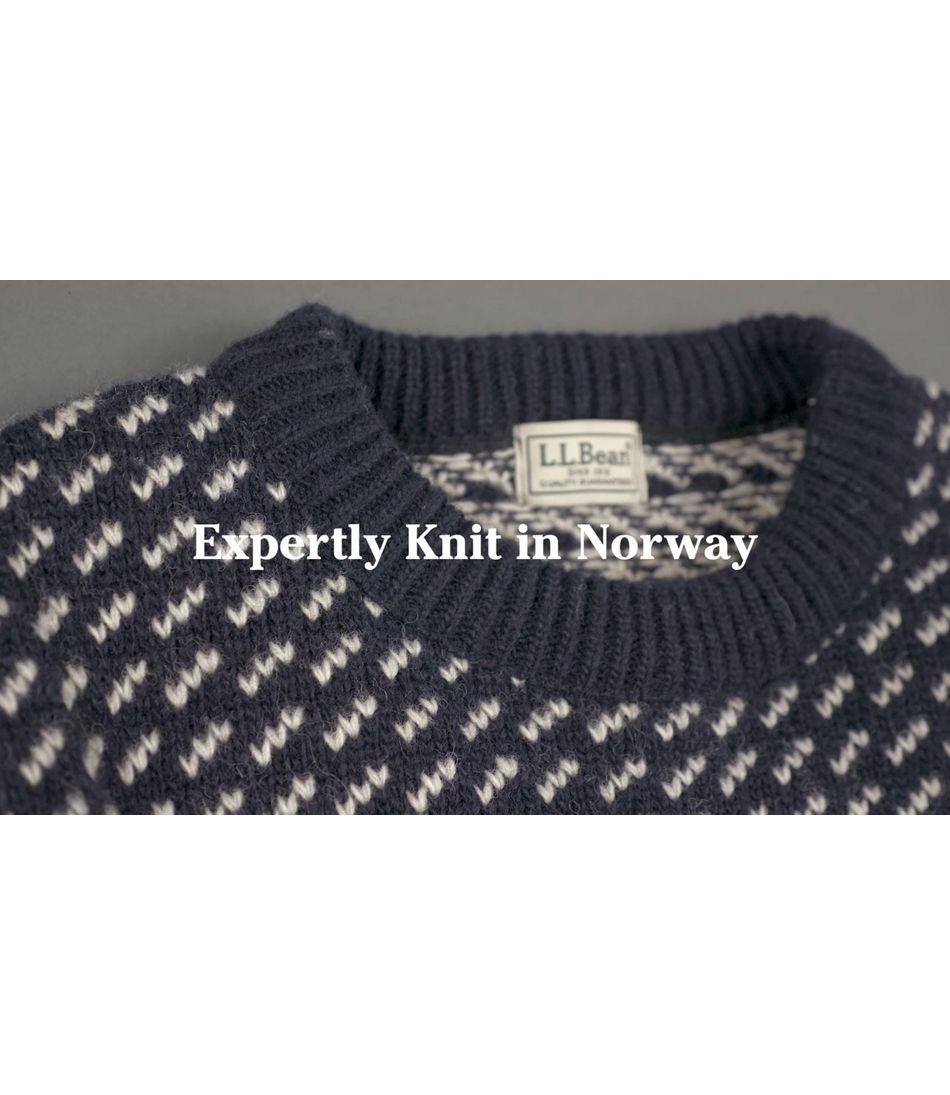 Video: Norwegian Sweater Crew Mens