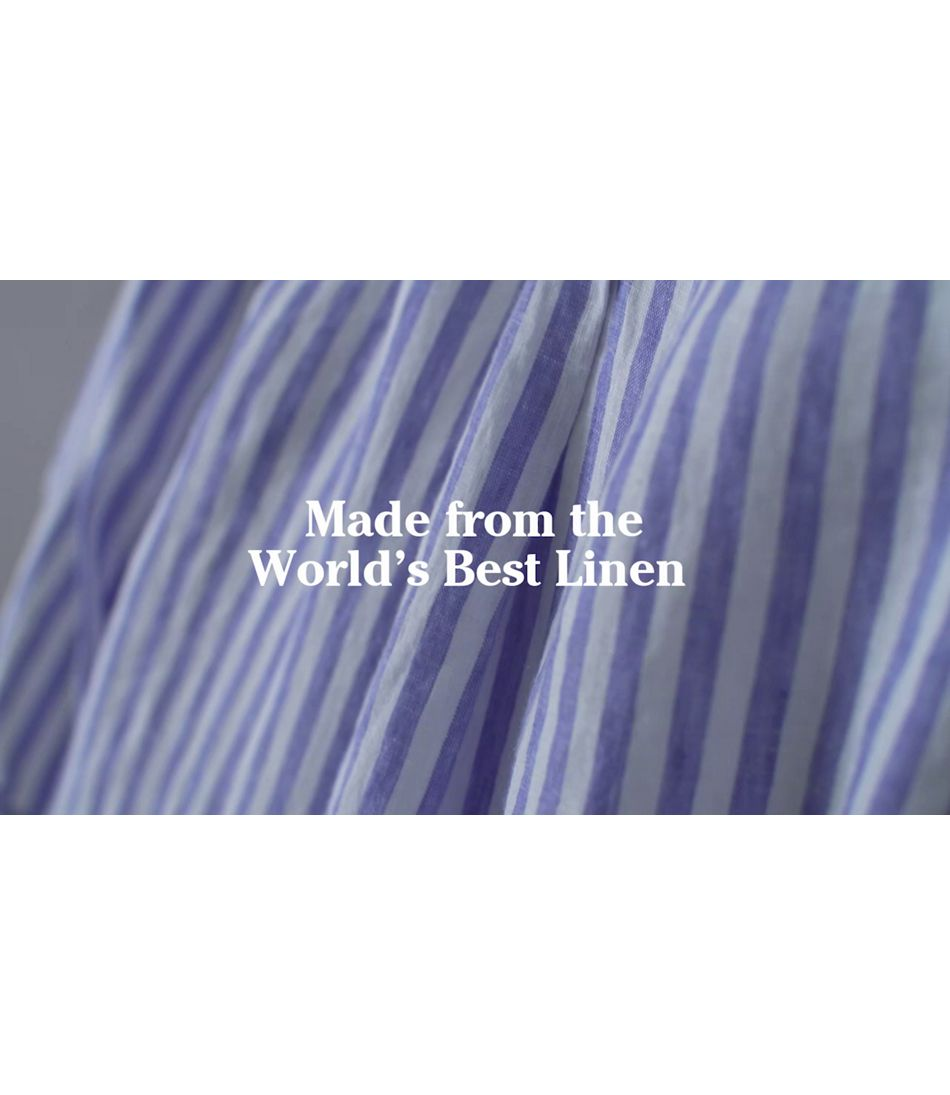 Video: Premium Washable Linen Long Tunics Ws