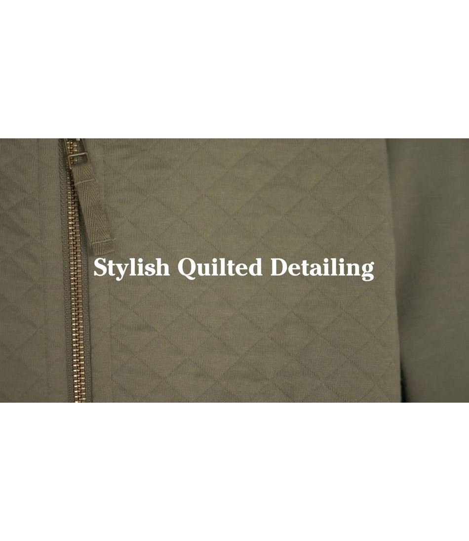 Video: Quilted Sweatshirt Tops Ws