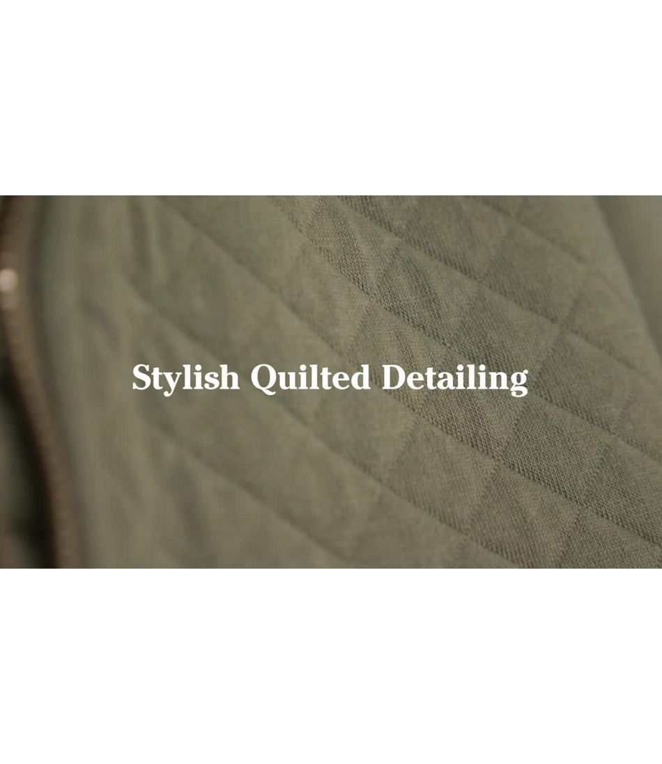 Video: Quilted Sweatshirt Tops Ws 1/4
