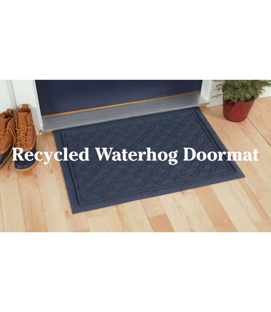 Video: RECYCLED WATERHOG DOORMAT