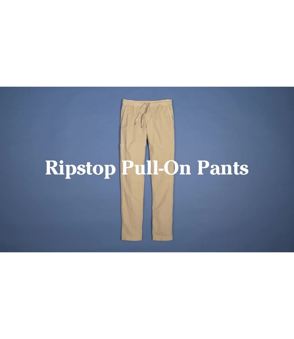 Video: Ripstop Pull-On Pant Misses