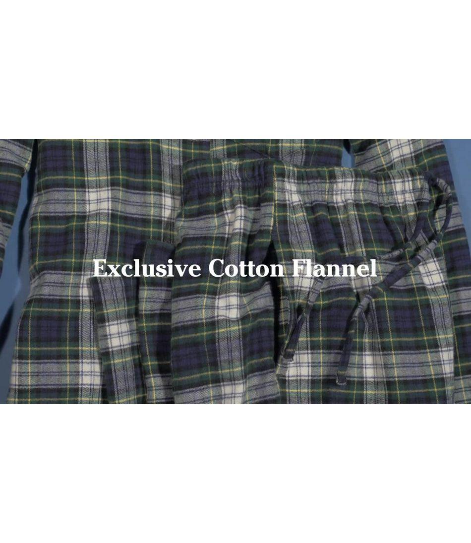 Video: ScotchPlaidFlannel Pajamas Womens
