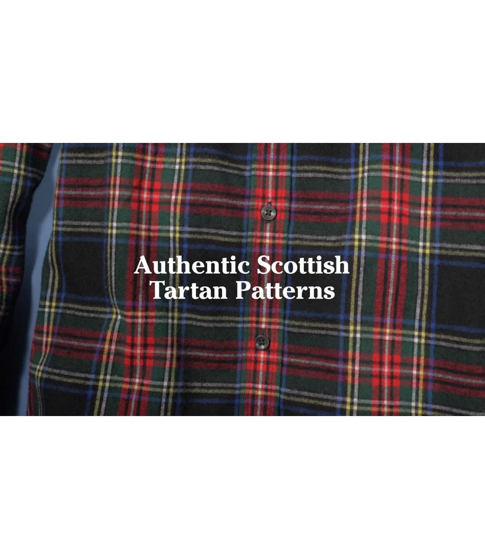 Video: Scotch Plaid Flannel Tunic Misses