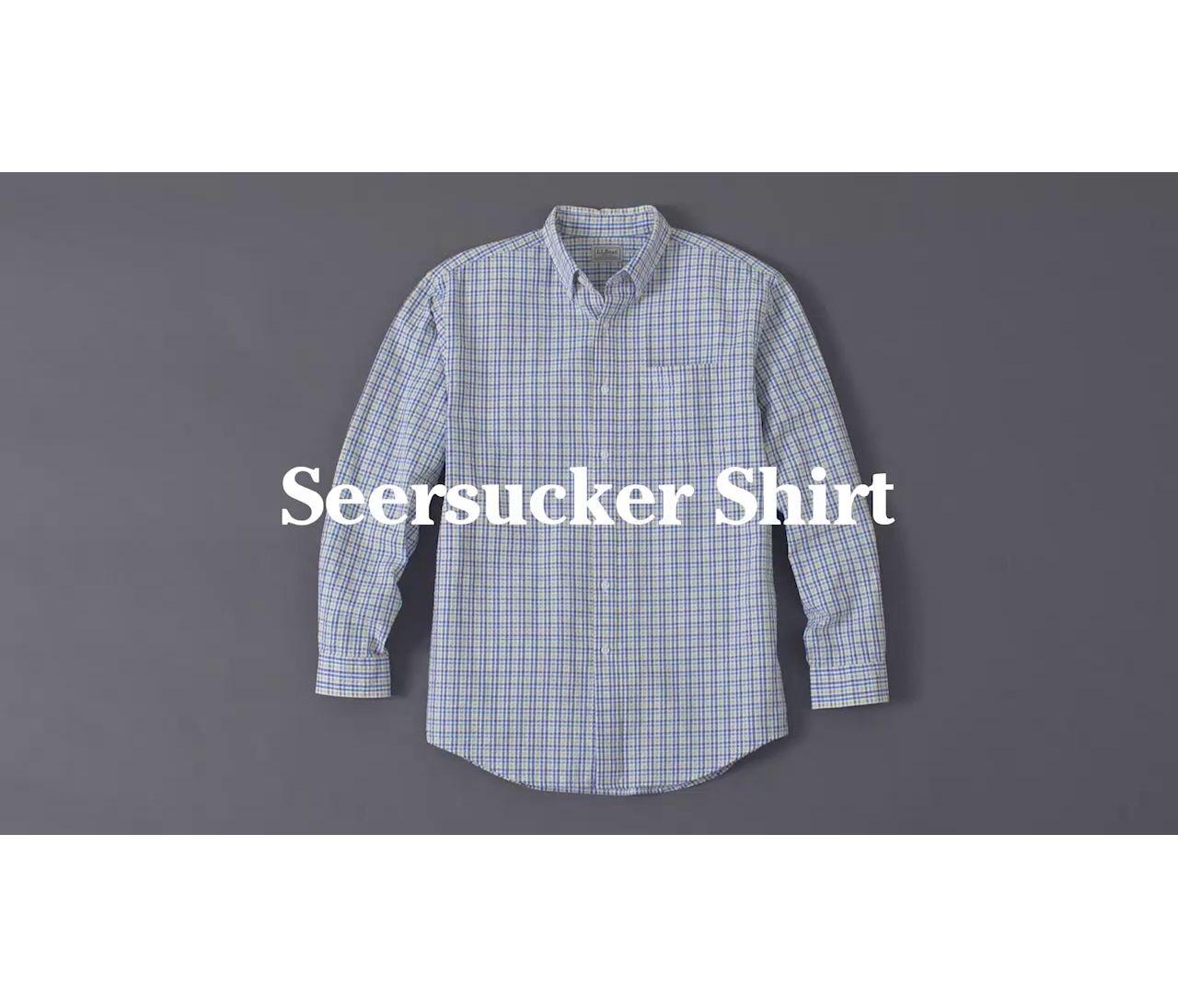 Video: Seersucker LS shirt Ms