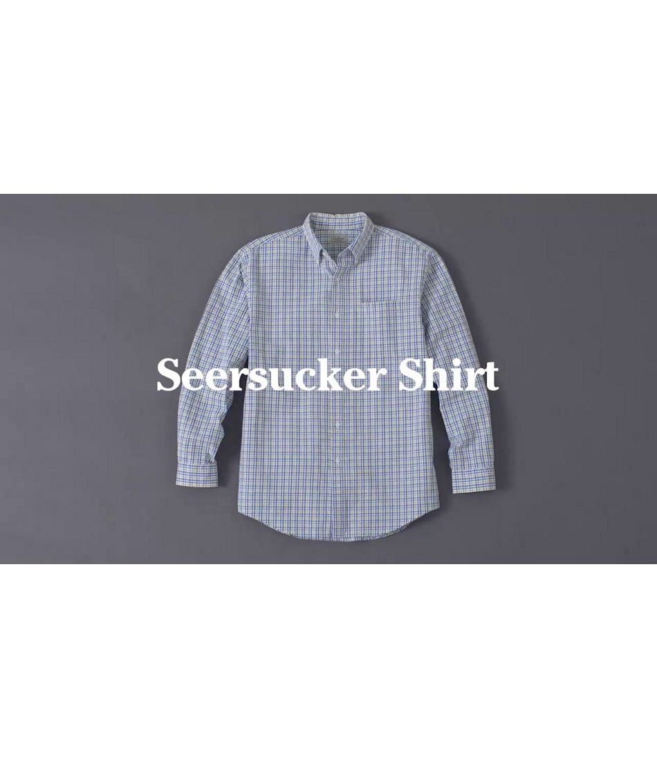 Video: Seersucker LS shirt Ms