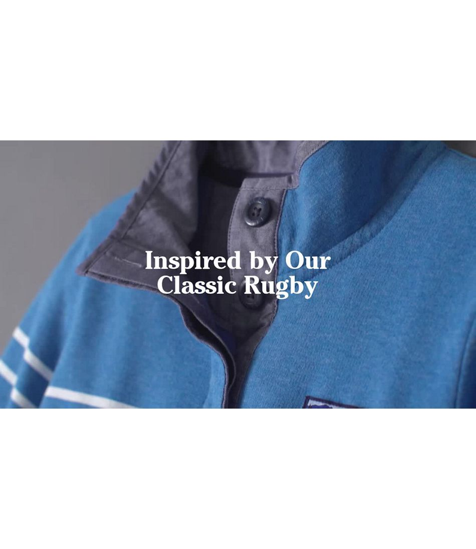 Video: Soft Cotton Rugby Henly Pullover Ws