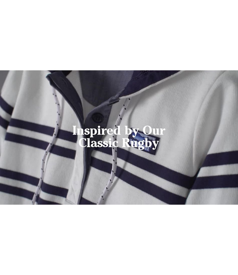 Video: Soft Cotton Rugby Hoodie Ws