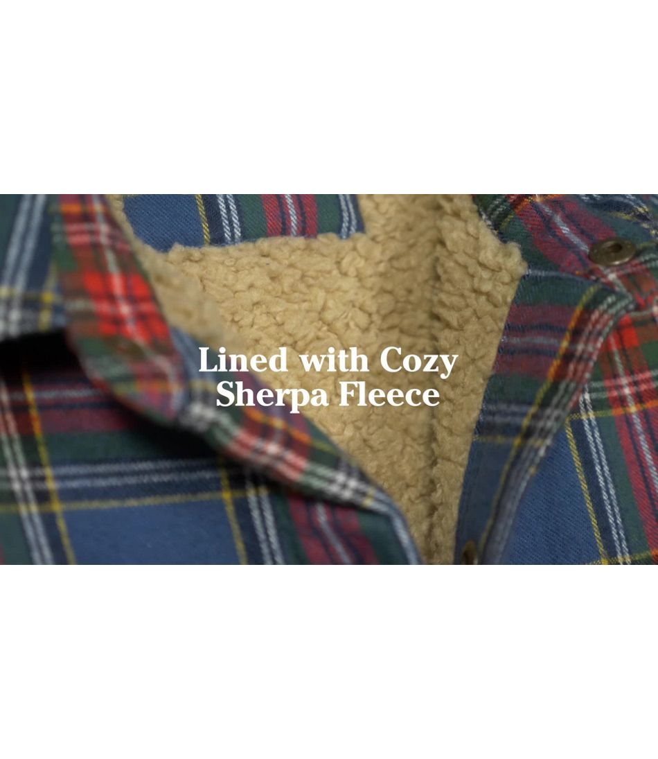 Video: Sherpa Lnd Scotch Pld Shirt Ms