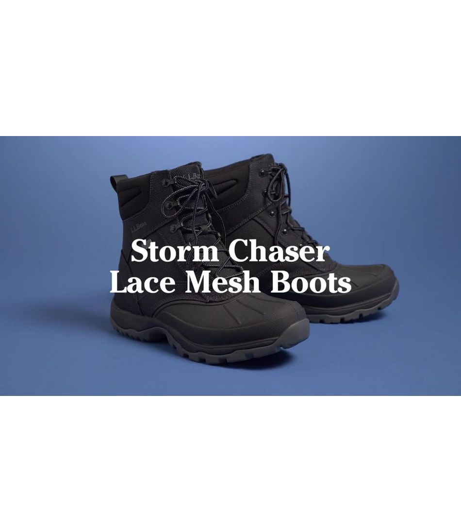 Video: Storm Chaser Boot 5 Lace Mesh Mens