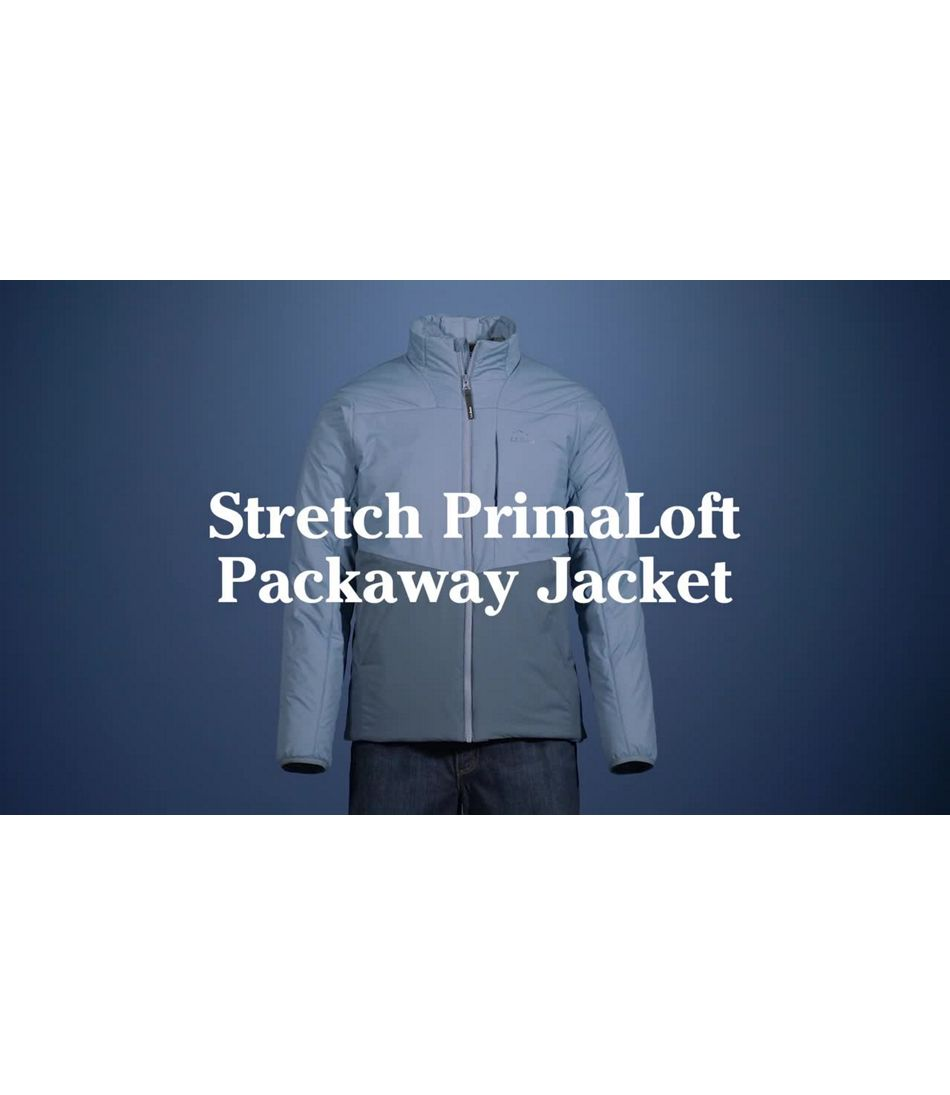Video: Stretch PL Packaway Jkt Ms Reg